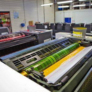 Travaux d'imprimerie et façonnage