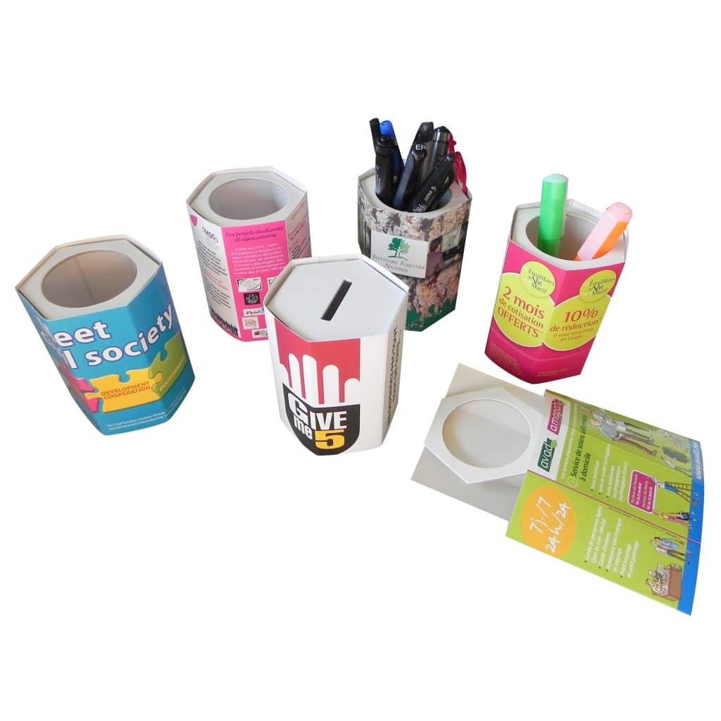 Pots à crayons / tirelires