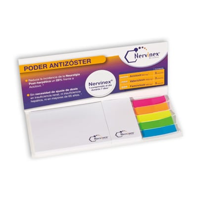 set de blocs notes repositionnables avec couverture; blocs de 100x75+30x75+marque page 50x75