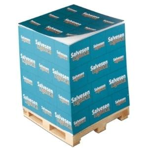 Blocs cube encollés sur mini-palette