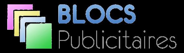 logo blocs publicitaires